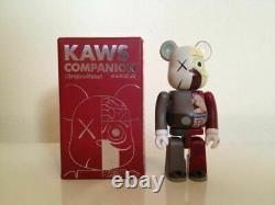 KAWS Dissected Bearbrick 400% and 100 % (Brown) OriginalFake Medicom Ltd 500