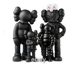 KAWS FAMILY Figures Black SS21 BRAND NEW IN BOX Confirmed Orders