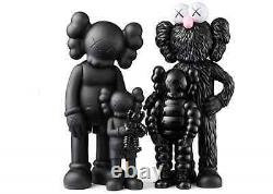 KAWS FAMILY Figures Black SS21 BRAND NEW IN BOX IN HAND, FREE SHIPPING