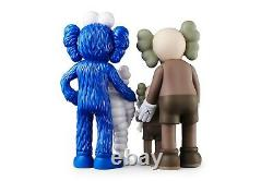 KAWS FAMILY Figures Brown/Blue/White Brand New In Hand