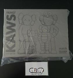 KAWS Family BRAND NEW BROWN/BLUE/WHITE IN HAND
