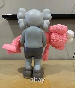 KAWS Gone Toy Figure Companion Grey w Pink BFF Companion (Medicom)