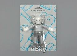 KAWS HOLIDAY Hong Kong 8.5 inch Companion Bath Toy Figure Grey (Authentic)