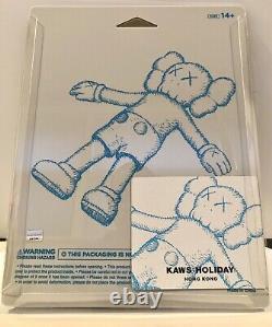 KAWS HOLIDAY Hong Kong 8.5 inch Companion Bath Toy Figure Grey Brand New