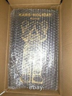 KAWS HOLIDAY SPACE 11.5'' GOLD In Hand Expedited Shipping