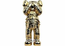 KAWS Holiday Space Figure Gold IN HAND