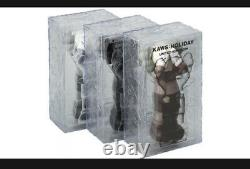 KAWS Holiday UK Vinyl Figure Brown/Grey/Black Set