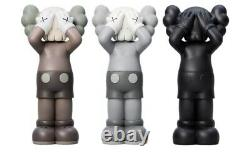 KAWS Holiday UK Vynil Figure Set (Brown/Grey/Black) CONFIRMED