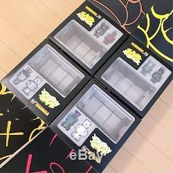 KAWS Kubrick Bus Stop No. 1 2 3 4 Medicom Toy 100% JAPAN OriginalFake BE@RBRICK