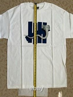 KAWS OriginalFake x Undefeated Bendy Five Strike T-Shirt (White / XL) supreme