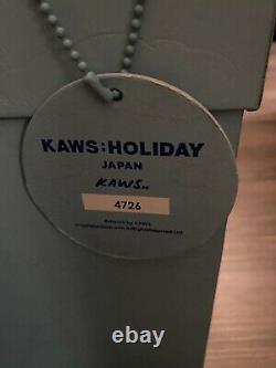 KAWS Plush Holiday Japan Mount Fuji Grey, Pink, Blue Set