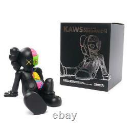 KAWS Resting Place Vinyl Figure Black