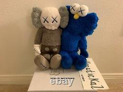 KAWS Seeing/Watching Limited Edition 16 Plush Figure BFF Companion IN HAND