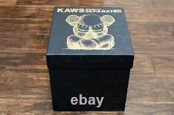 KAWS Separated Black Vinyl Figure, Brand New In Hand Ships Tomorrow