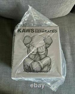 KAWS Separated Brown Vinyl Figure, Brand New In Hand READY TO SHIP