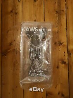 KAWS Small Lie Companion Vinyl Figure Black UK STOCK NGV