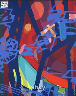 KAWS WHAT PARTY Brooklyn Museum 2021 Exhibition Poster SCORE YEARS-38x48 in