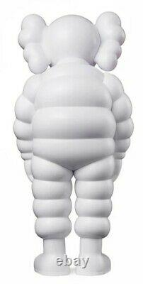 KAWS What Party Companion Figure (White) 11.375in In-Hand Ships Fast