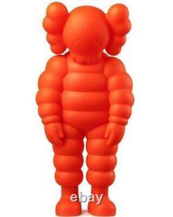 KAWS What Party Figure Orange