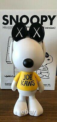 KAWS X Peanuts Joe Snoopy Vinyl Figure Joe Kaws 2011 Perfect Condition withbox