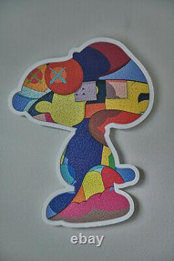 KAWS no ones home puzzle FRAME ONLY no puzzle