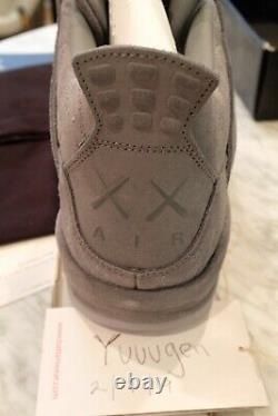 KAWS x Jordan 4 Grey (Deadstock) Size US 8.5