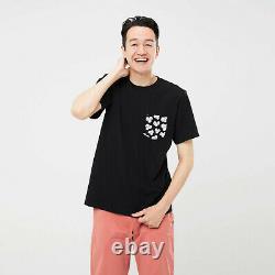 KAWS x Uniqlo UT Short Sleeve Pocket T-shirt Black Dior BFF New BNWT DS Medium