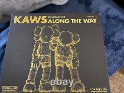Kaws Along The Way Companion Figure Black