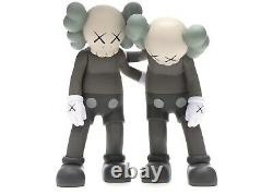 Kaws Along The Way Companion Figure Brown Limited 100% Authentic