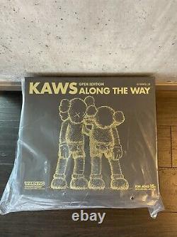 Kaws Along The Way Vinyl Companion Full Set of Three KAWSONE Original Fake
