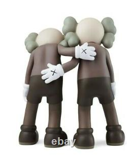 Kaws Along the Way Brown Vinyl Companion Figure Authentic Ready To Ship