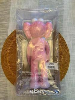 Kaws BFF Pink Open Edition 100% Authentic Brand New Sealed Vinyl Figure Medicom