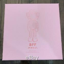 Kaws BFF Plush Pink 3000 Pieces Worldwide 100% AUTHENTIC In Hand