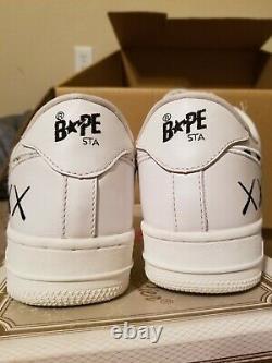 Kaws Bapesta mens us size 9 brand new with box white