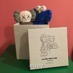 Kaws Companion BFF Seeing Watching 16 inch Plush Limited Numbered 100% Authentic