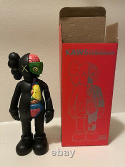 Kaws Companion Open Edition Black Flayed Vinyl Toy Figure
