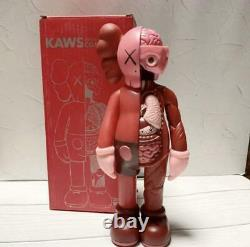 Kaws Companion Open Edition Dissected Authentic Red OrignaFake