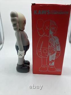 Kaws Companion Open Edition Grey Flayed Vinyl Toy Figure