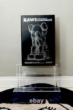 Kaws Companion Passing Through Black Kawsone Medicom with box