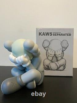 Kaws Companion Separated Grey Figure Collection Sitting Down Toys Detailed