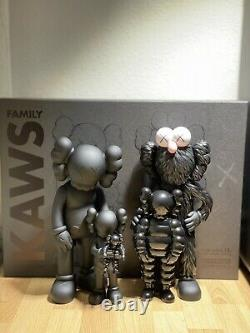 Kaws Family Black Brand New in Box Companion Chum Bff Ready To Ship