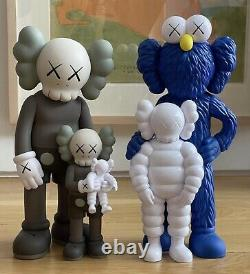 Kaws Family Figures Brown/Blue/White IN HAND