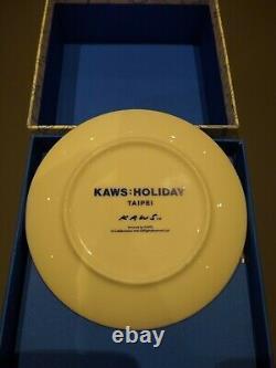Kaws Holiday Taipei 2019 Plate Limited Edition Ceramic Plates (Set of 4)