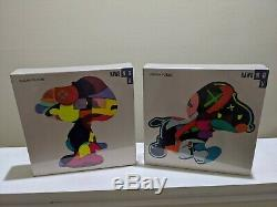 Kaws No Ones Home And Stay Steady Puzzle Set KAWS NGV Exclusive SET OF 2