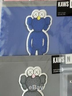 Kaws Puffy Sticker Cards Complete Set
