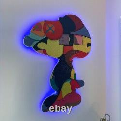 Kaws Puzzle Custom Wood Frame Stay Steady / No Ones Home -BUNDLE (both frame)