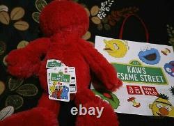 Kaws Sesame Street X UNIQLO Plush Doll Ernie Bert Elmo Cookie Monster Big Bird