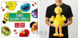 Kaws Sesame Street X UNIQLO Plush Doll Set Bundle Elmo, Cookie Monster, Big Bird