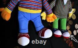 Kaws Sesame Street X UNIQLO Plush Doll Set Bundle Ernie & Bert Genuine Article