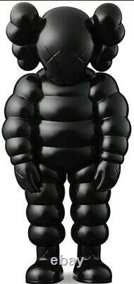 Kaws What Party Black Edition Vinyl Figure In Hand BRAND NEW IN BOX ships asap